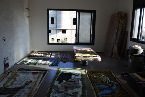 Atelier Nasrin Baker (foto Britte Sloothaak)