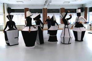 foto's van de repetitie Orinta Znojevai