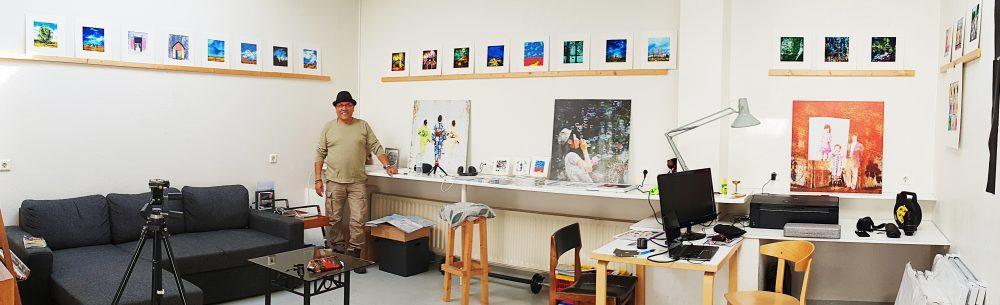 Salman Ezzammoury - Artist Residency Iceland