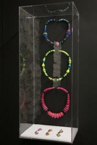 Meiri Ishida, Pappagallo necklaces 1, 2, en 3, 2014